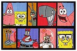 Fun Rugs SpongeBob Comic SB-14 1929 19 by 29 Inch Medium Pile Childrens Area Rug
