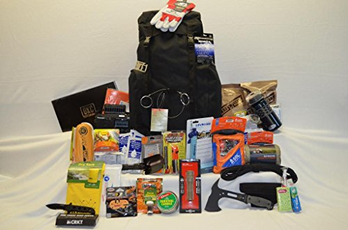 Urban Survival Bag I Bug Out Bugout Bag With Fox Tactical Rio Grande 75 Liter Pack, Mre Star Mres, Sos Food Labs 2400 Calorie Food Bars And Emergency Drinking Water Packets, Lifestraw Personal Water Filter, Gsi Outdoor Infinity 1 Liter Dukjug, Aquamira Wa