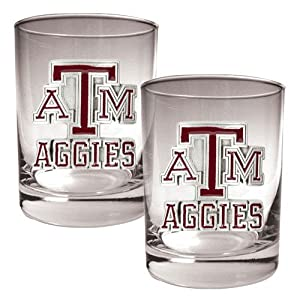 Buy Great American NCAA Rocks Glass Set by Great American Products