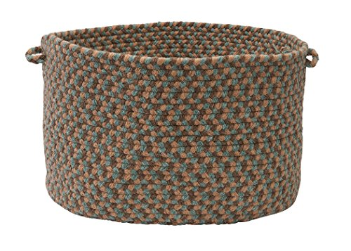 Colonial Mills Boston Common Utility Basket, 18 by 12-Inch, Driftwood Teal - 1