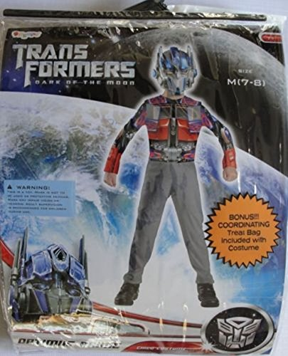 Transformers Dark Side Of The Moon Optimus Prime Size 7/8 Costume