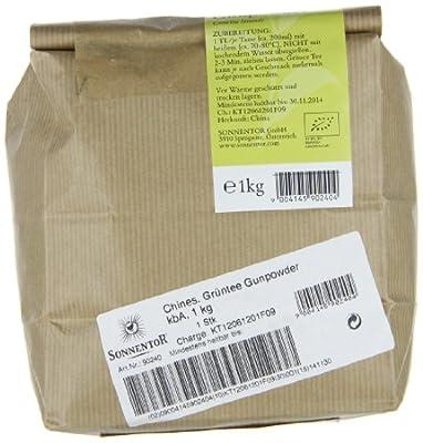 Sonnentor Chines. Grüntee Gunpowder, 1er Pack (1 x 1 kg) - Bio von Sonnentor - Gewürze Shop