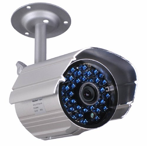 Review VideoSecu Day Night Vision Weatherproof 520TVL Home Bullet Security Camera 36 IR Infrared LED...