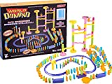 ドミノ おもちゃ 幼児 188ピース カラフル 知育玩具 ピタゴラスイッチ 仕掛け 集中力 創造力 男女 6歳以上 お誕生日プレゼント