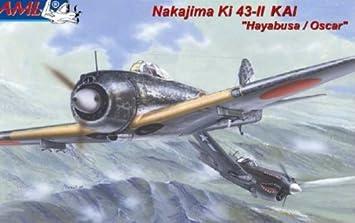 AML 72043 Nakajima Ki-43-11 Hayabusa Oscar 1:72 Plastic Kit Maquette