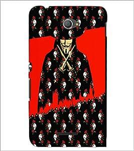 PrintDhaba Vendetta D-3508 Back Case Cover for SONY XPERIA E4 (Multi-Coloured)