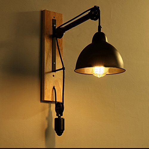 Am ricaine r tro lampe de fer industriel loft creative for Lampe de chevet industriel