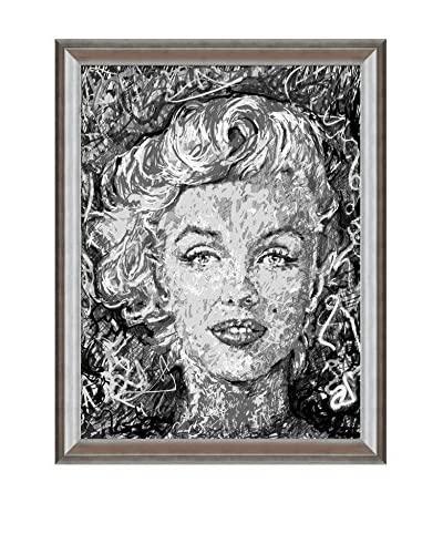 Jeffrey F. Pierson Marilyn Monroe Framed Reproduction Print on Canvas