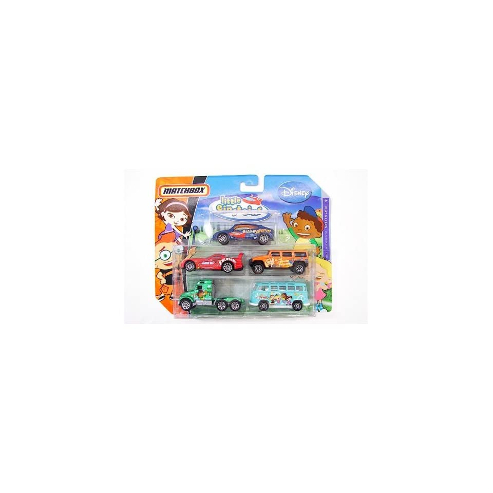 Matchbox Disney 5 Pack Diecast Cars   Little Einsteins