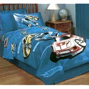 ... Hot Wheels Twin Comforter · Wellstil Cartoon Character S Bedding  Coverlet Set ...