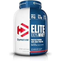 Dymatize Elite Whey Protein 5-lb. Tub in Strawberry Blast
