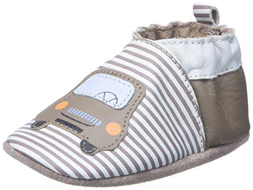 RobeezCity Car - Scarpine prima infanzia Bimbo 0-24 , Beige (Beige (Beige)), 23^24