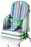 Quaranta Settimane - Alzador de asiento Perla multirigato verde