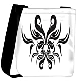 Snoogg decor swirl elements illustration Womens Carry Around Cross Body Tote Handbag Sling Bags