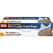 Presto Products 628107 Do it Best Extra Large Trash Bag-10CT 33GAL TRASH BAG