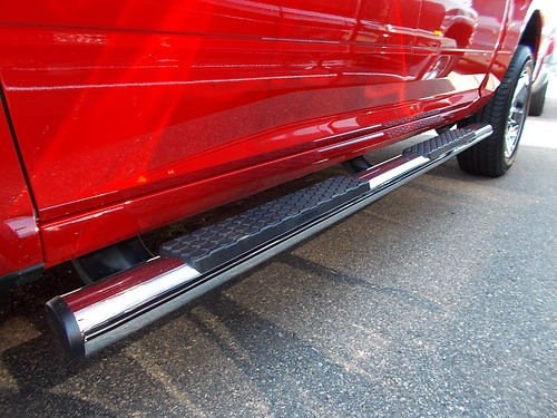 09 13 2013 DODGE RAM CHROME SIDE STEPS NERF BARS TUBULAR