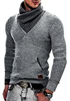 MAKI Herren Strickpullover Strick Pullover Jacke Hoodie Hoody S M L XL