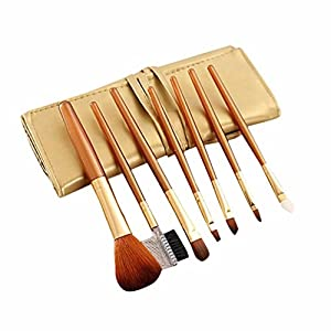 Creazy 7Pcs/set Concealer Brushes Powder Blush Brush Cosmetic Makeup Brush Set Tool