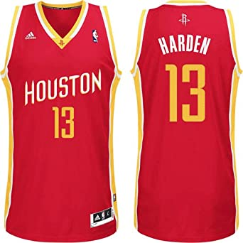 Houston Rockets James Harden Alternate Adidas Swingman Revolution 30 Jersey by adidas