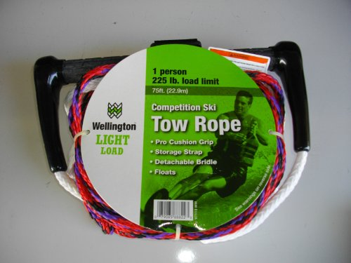 Image of Wellington (Light Load) 75ft. Competition Ski Tow Rope (B002EBZB2A)