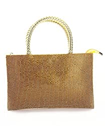 LadyBugBag Golden Designer Handbag - LBB10112