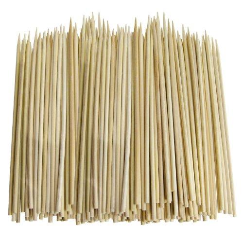 100 Wooden Bamboo Bbq Chocolate Fountain Fondue Skewers