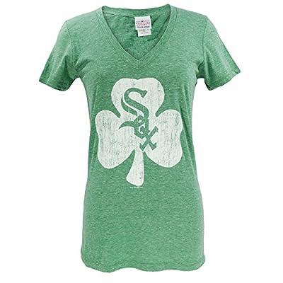 Chicago White Sox Ladies St. Patrick's Day Tri-Blend T-Shirt