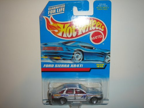 1998 Hot Wheels Ford Sierra XR4Ti Silver #615 - 1