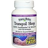 Natural Factors Tranquil Sleep  Enteric Coated 90 Softgels