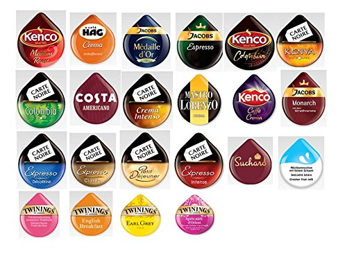 Shop for 44 Tassimo T Discs (PODS) 'bumper' Selection Pack - Kraft Foods