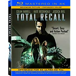 Total Recall (Mastered in 4K) (Single-Disc Blu-ray + Ultra Violet Digital Copy)