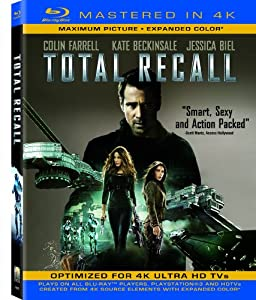 Total Recall (Mastered in 4K) (Single-Disc Blu-ray + UltraViolet Digital Copy)