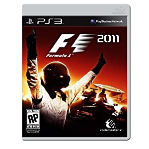 F1 2011 Video Game for PS3