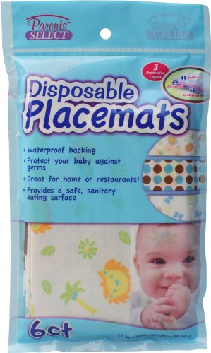 Disposable Placemats Bulk Case of 24