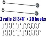 Ikea Bygel 2 Steel Rails 22