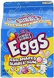 Dubble Bubble Egg Shaped Bubble Gum 4oz 2pk