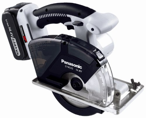 Panasonic Ey4542Lr2M Cordless, Battery Powered, Rechargeable 14.4V Metal Cutter Kit