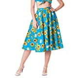 Hell Bunny Rock SUNRISE 50'S SKIRT multi