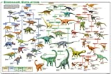 (24x36) Dinosaur Evolution Educational Science Chart Poster