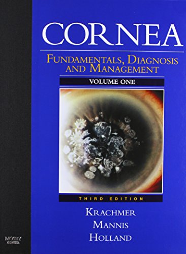 Cornea: 2-Volume Set with DVD (Expert Consult: Online and Print), 3e