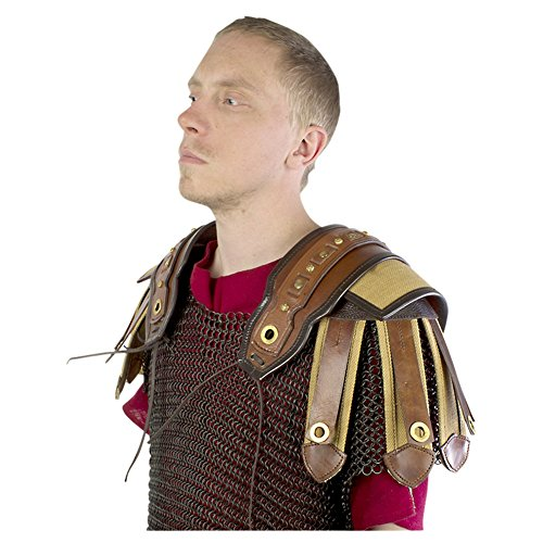 Armor Venue: Roman Shoulder Body Armour Brown One Size