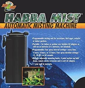 automatic misting machine
