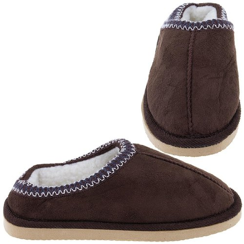 Cheap Chocolate Scuff Slippers for Women (B005Y4SFPO)
