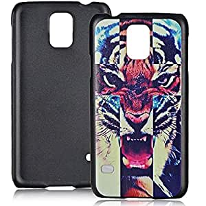 Stylish Tiger Head Pattern PC Back Case for Samsung Galaxy S5 i9600
