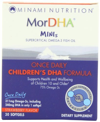 Garden Of Life - Minami - Mordha Minis ? 30 Count Strawberry Softgels