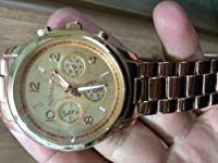 Michael Kors Rose Gold Watch from Michael Kors
