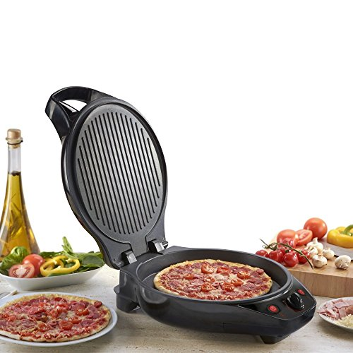 Amazon Cooks Professional Premium Pizza Maker and Grill Non Stick 12 ...