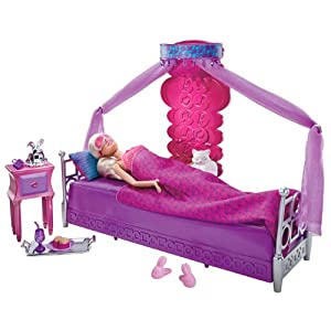Barbie Bed To Breakfast Deluxe Bedroom and Doll Set