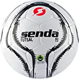 Senda Rio Club Futsal Soccer Ball, Fair Trade Certified, Black/White, Size 4 (Ages 13 & Up), Size 4 (Ages 13 &...