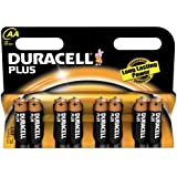 Duracell Plus MN1500 Alkaline AA Batteries - 8-Pack